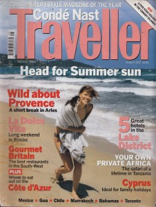 PR Conde Nast Traveller 2007
